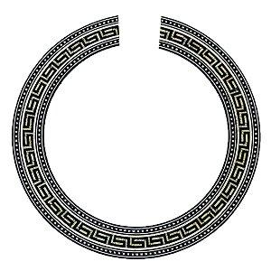 Roseta Mosaico De Madeira Estampa Violão Nylon e Viola 92mm