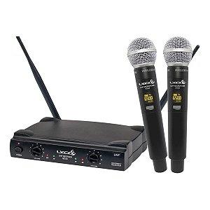 Microfone De Mão Profissional Lyco UH08MM UHF Dinamico