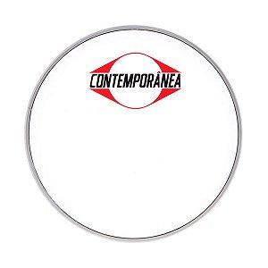 """Pele Nylon Leitosa 16"""" Contemporânea Para Tom Surdo Zabumba"""