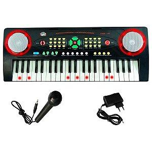 Teclado Infantil Musical Custom Kids Eletrônico CKKB-44