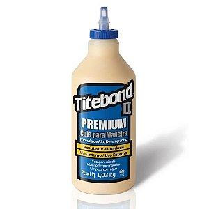 Super Cola Profissional P/ Madeira Titebond II Premium 1,03Kg