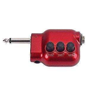 Mini Pré amplificador P10 passivo para instrumentos musicais