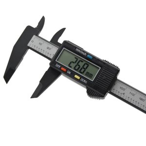 Paquimetro Digital Eletronico Fibra De Carbono 150mm