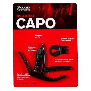 Capotraste Daddario Ajustável Para Guitarra Violão PW-CP-10
