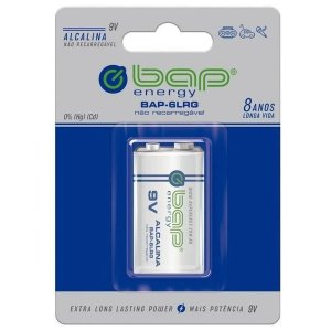 Bateria Alcalina Bap Para Instrumentos Musicais BAP-6LRG 9V