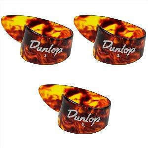 Kit Com 03 Dedeiras Shell Celuloide Dunlop Para Viola Grande