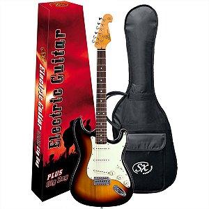 Guitarra Elétrica Stratocaster Sx SST62 Sunburst Vintage Series