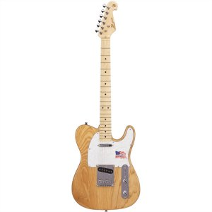 Guitarra Elétrica Telecaster Sx STLASH Natural Ash Series