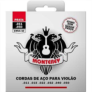 Jogo De Cordas Para Violão Aço Solez Monterey 011 EMVA10