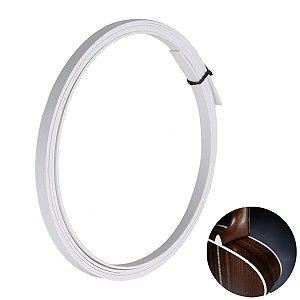 Filete Branco 5mm 1,65 Metros Para Instrumentos Musicais
