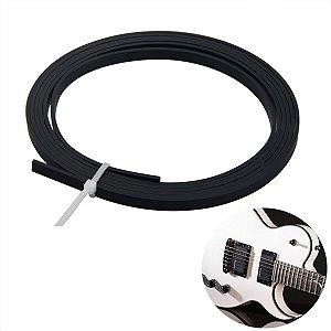 Filete Preto 5mm 1,65 Metros Para Instrumentos Musicais