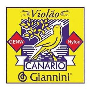 Corda Para Violão Nylon Canário Giannini super oferta