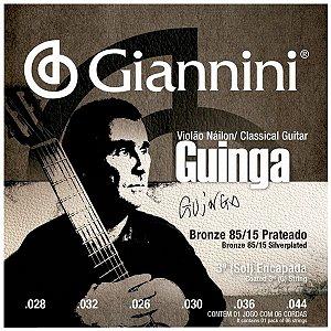 Cordas Para Violão Giannini Nylon Guinga