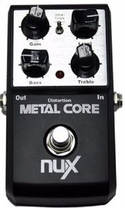 Pedal Nux Metal Core Distortion