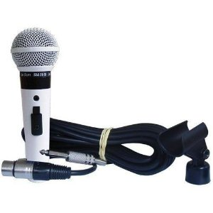Microfone Leson Modelo Sm 58 P4 - Cor Branco