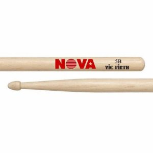 Par De Baquetas Nova By Vic Firth 5b Hickory