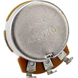 Potenciômetro Base Pequena Eixo Longo A250K Alpha