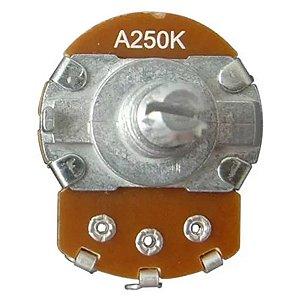 Potenciômetro Base Grande Eixo Longo A250K Alpha