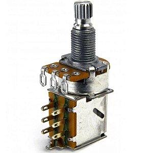 Potenciômetro Push Pull Linear B500K Alpha