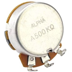 Potenciômetro Base Pequena Eixo Longo A500K Alpha