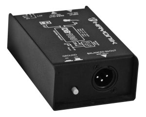 Direct Box Balanceado Passivo P10 Xrl Db-100 Hayonik