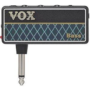 Mini Amplificador Para Fone De Ouvido Vox Amplug 2 Bass