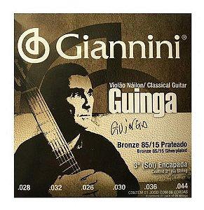 Cordas Giannini P/ Violão Nylon Tensão Alta Guinga