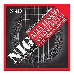 Jogo De Cordas Para Violão - Nig Nylon N410  Tensão Alta