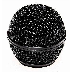 Globo Preto Para Microfone Universal Santo Angelo SAS58