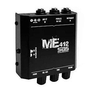 Mini Amplificador Para Fone De Ouvido Santo Angelo ME412