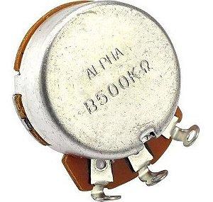 Potenciômetro Alpha Base Pequena Eixo Longo B500K