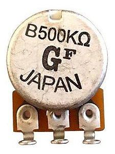 Potenciômetro Gotoh Base Pequena Eixo Longo Gotoh B500K