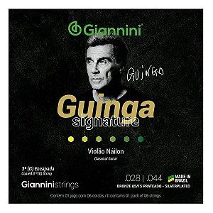 Cordas Giannini Para Violão Nylon Tensão Alta Guinga