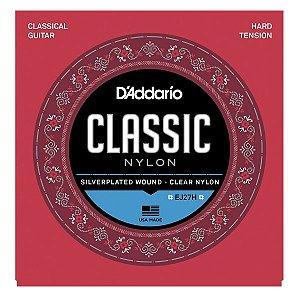 Jogo De Cordas P/ Violão Nylon Daddario Classic Tensão Alta