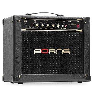 Amplificador Para Guitarra Borne Vorax 630 Preto 25w