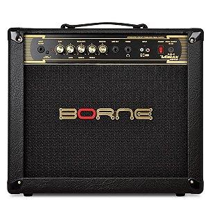 Amplificador Para Guitarra Borne Vorax 1050 Preto 50w