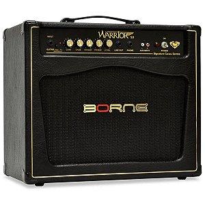 Amplificador Para Guitarra Borne Warrior 50 Cacau Santos 50w