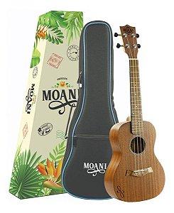 Ukulele Moani Concert Acústico UKSS02-23 Com Capa