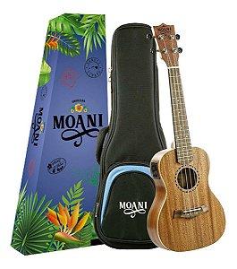 Ukulele Moani Soprano Eletrico UKMHE01-21 Com Bag