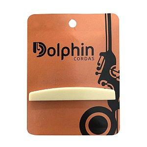 Rastilho Em Abs Marfim Para Violão Aço Dolphin DR250M