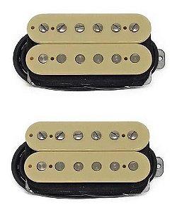 Set Captadores Humbucker Standard Malagoli HB4 Creme