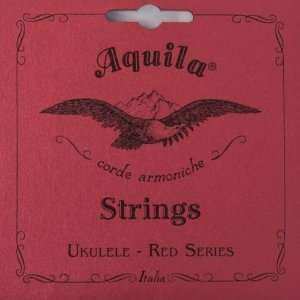 Jogo de Cordas Para Ukulele High G Aquila Soprano Red Series