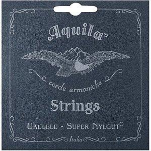 Jogo de Cordas Para Ukulele High G Aquila Tenor Super Nylgut