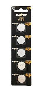 Cartela De Pilha Redonda Lithium Para Relogio Calculadora 3V