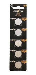 Cartela De Pilha Redonda Lithium Para Usos Diversos 3V