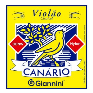 Jogo De Corda Para Violão Nylon Giannini Canário