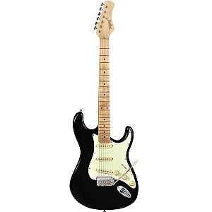 Guitarra Elétrica Strato Tagima T-635 Preta Classic Série