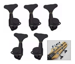 Tarraxas Blindada Para Baixo 5 Cordas 3x2 Preta
