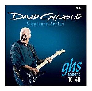 Jogo De Cordas Para Guitarra Elétrica Ghs David Gilmour 010