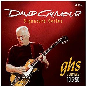 Jogo De Cordas Para Guitarra Elétrica Ghs David Gilmour 010.5